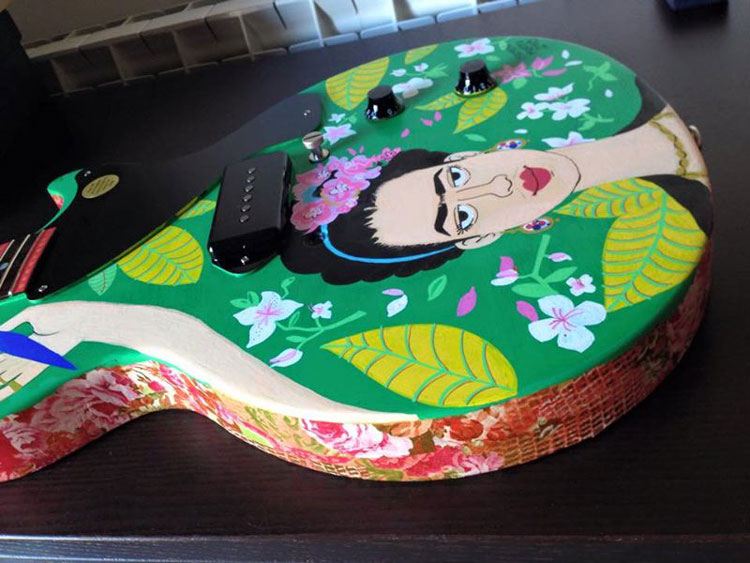 Guitarra Frida