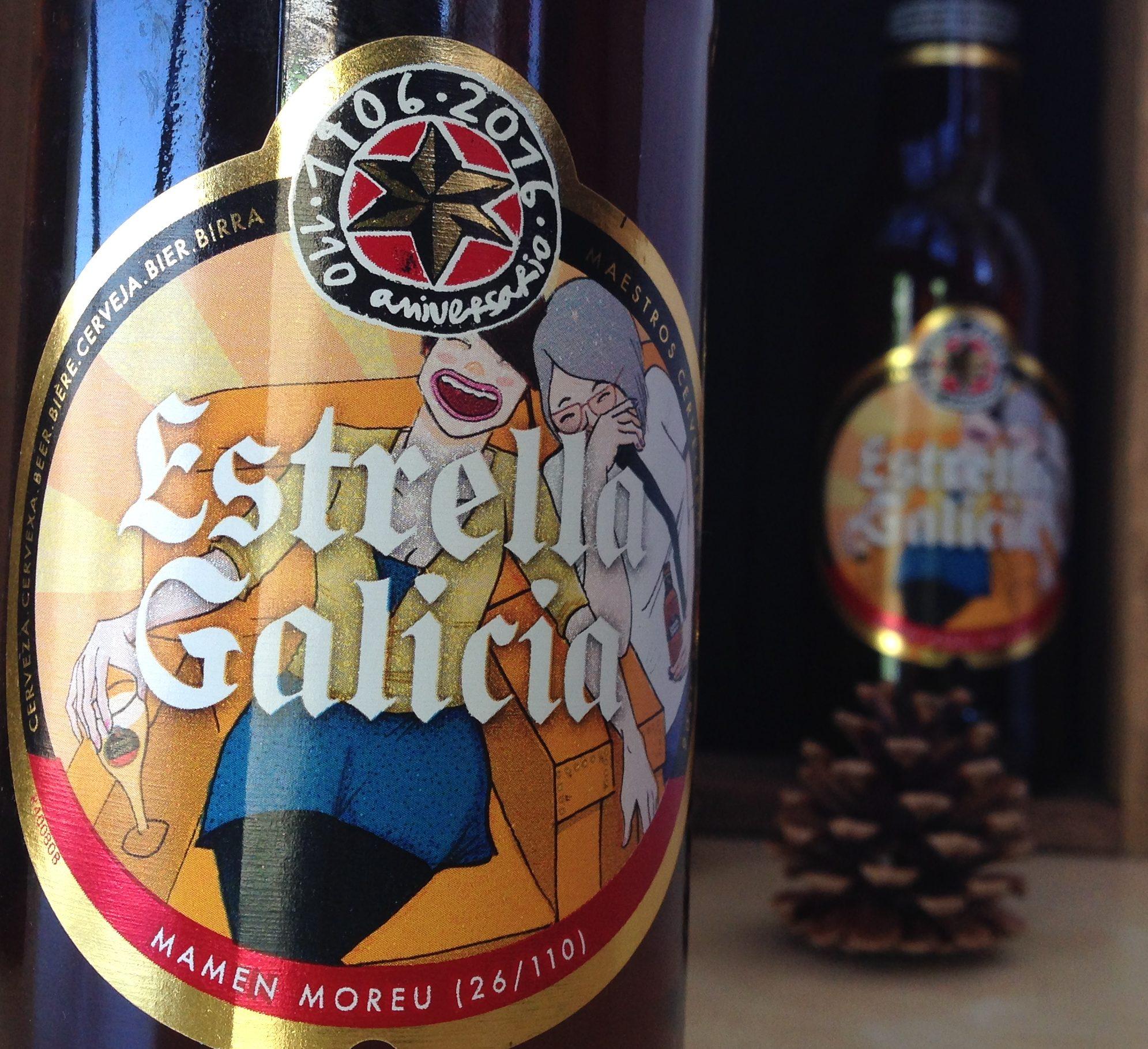 Ilustración para Estrella Galicia