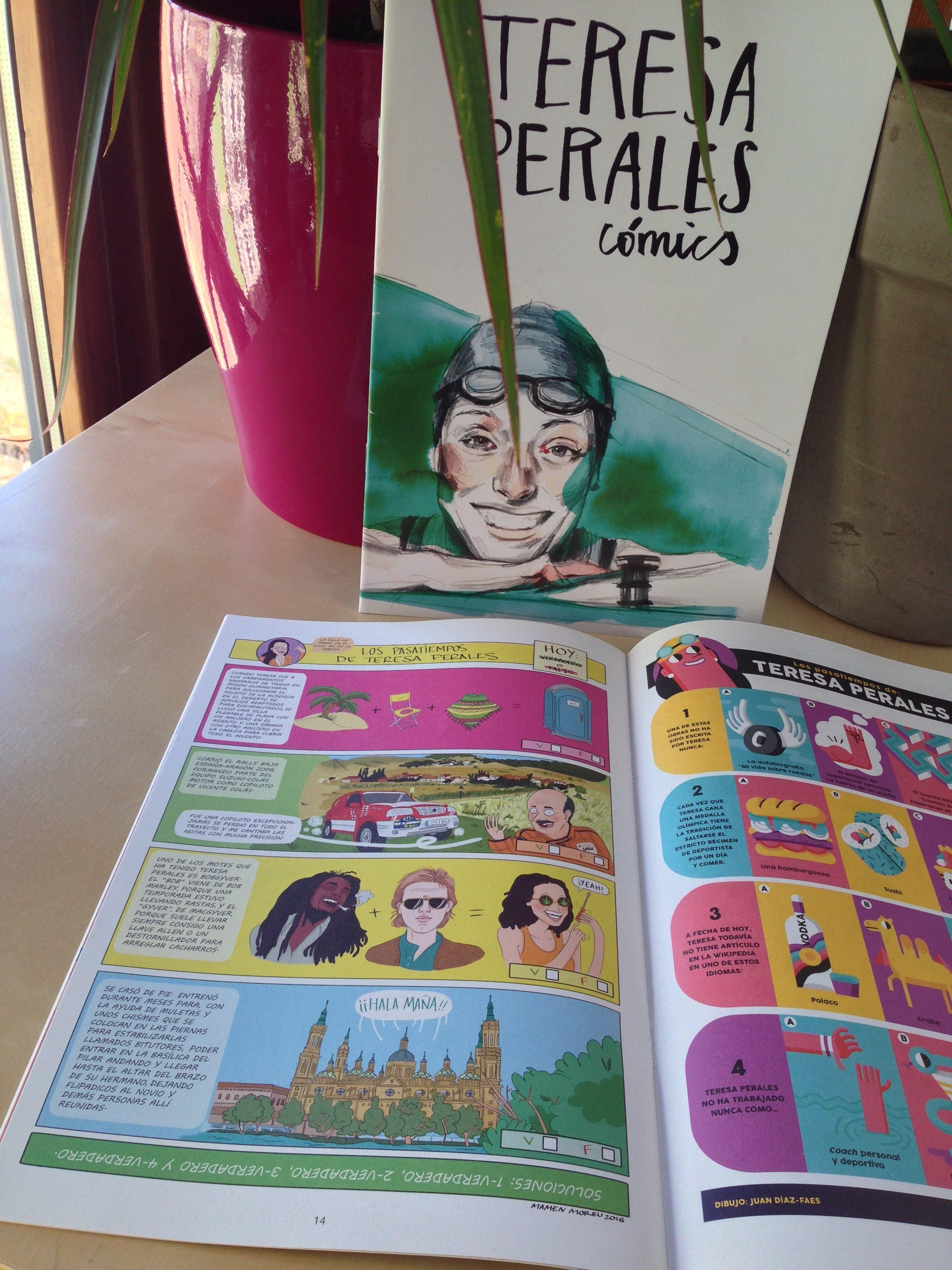 Teresa Perales cómics!!