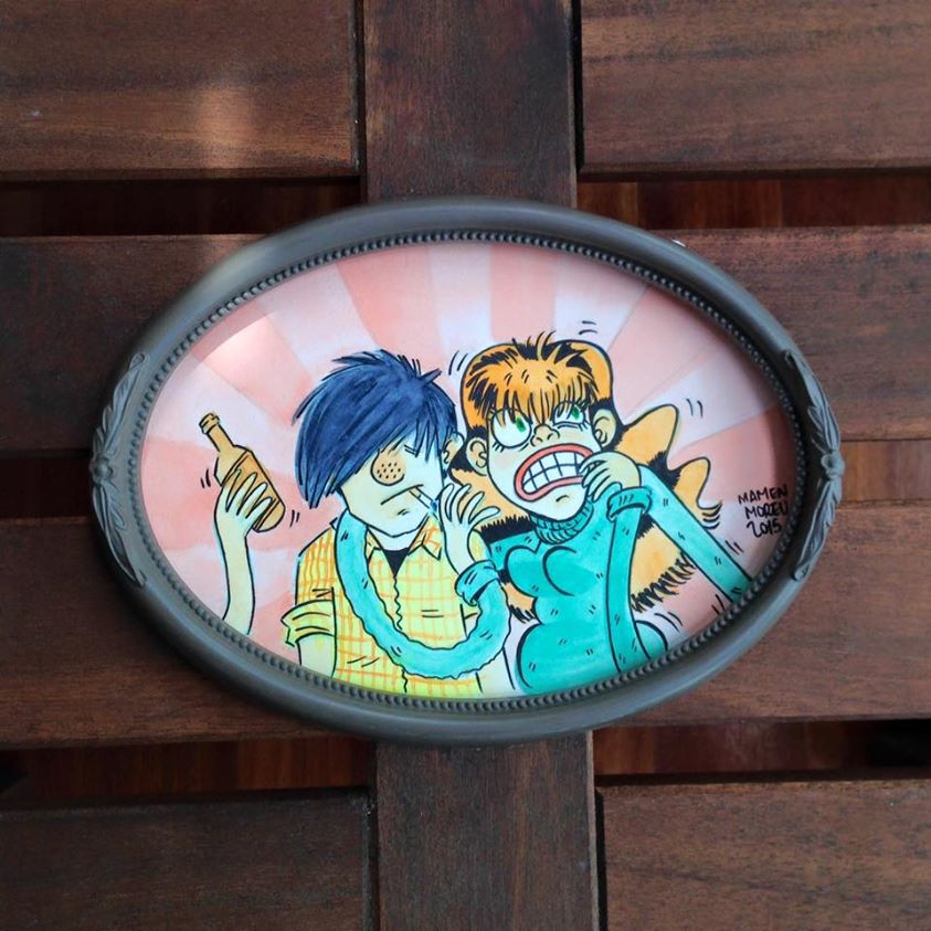 Buddy y Lisa